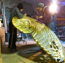 First Photos of the Finished Golden Wings